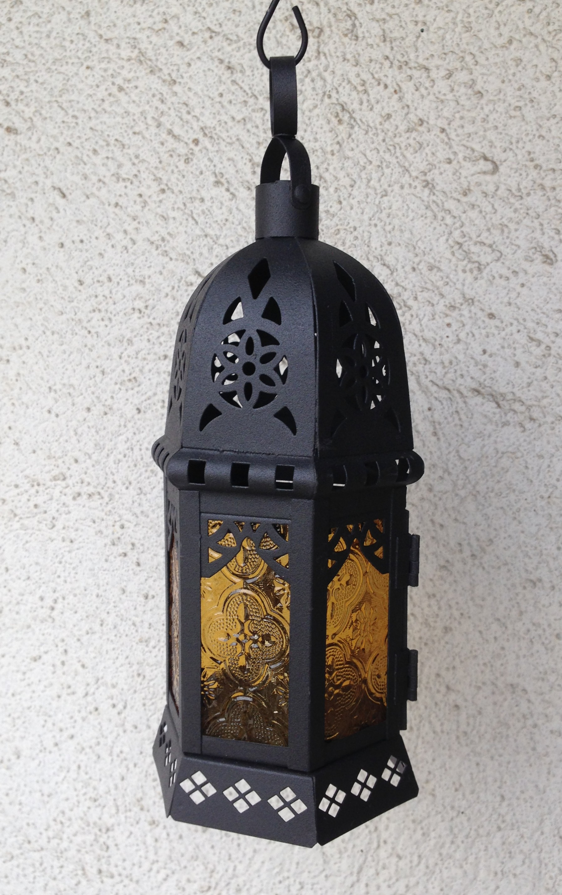 #5 moroccan style hanging lantern (small)