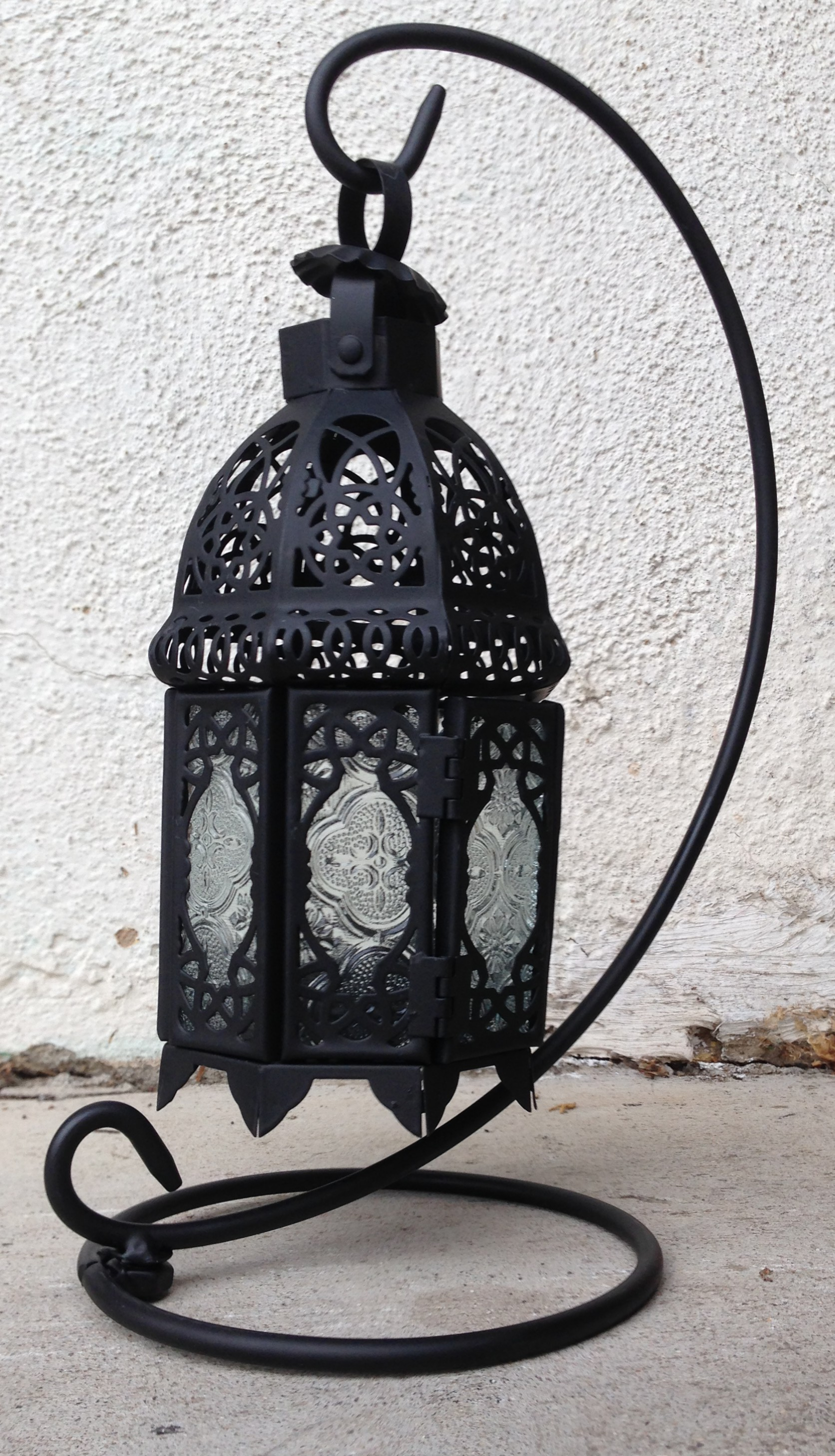 #4 Moroccan style hanging lantern (small)
