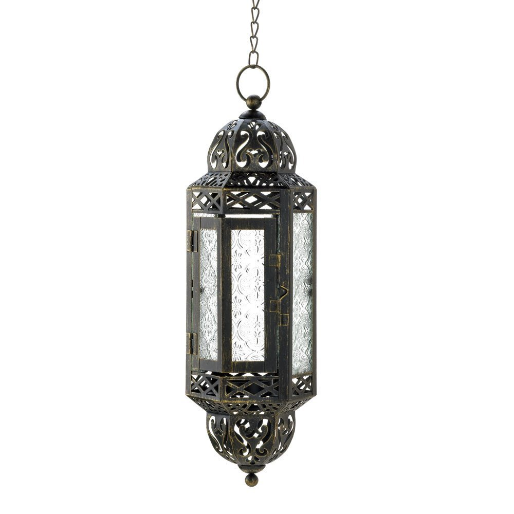 #3 Moroccan style hanging lantern (small)