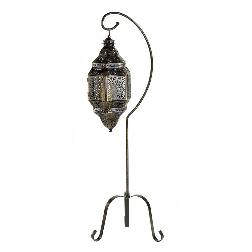 #2 Moroccan style hanging lantern (medium)