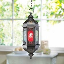#1 Moroccan style hanging lantern (small)