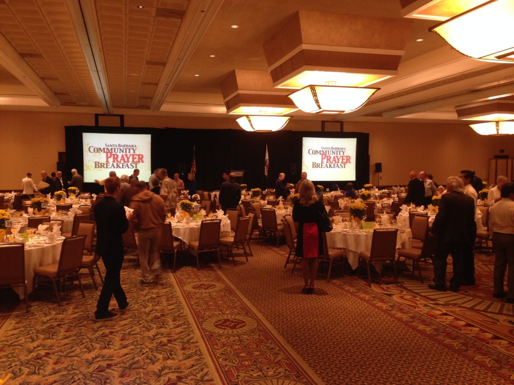 Community Prayer Breakfast at The Fess Parker Resort
